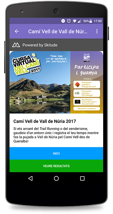 Visor mobile Cursa Virtual 3.0;