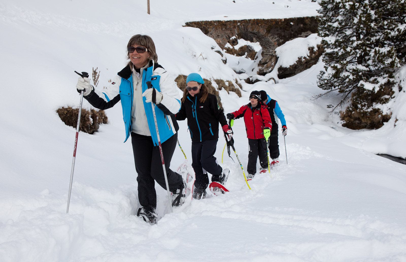 Puigmal Snowshoeing Ascent