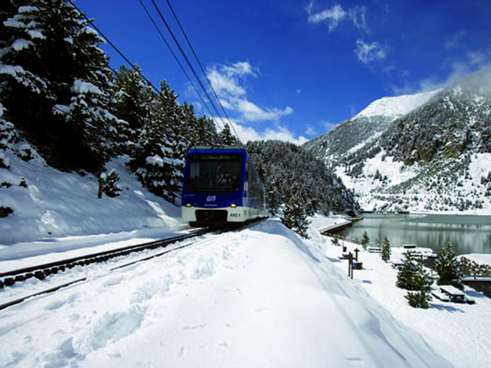 Vall de Núria Rack Railway Ticket - Round-trip